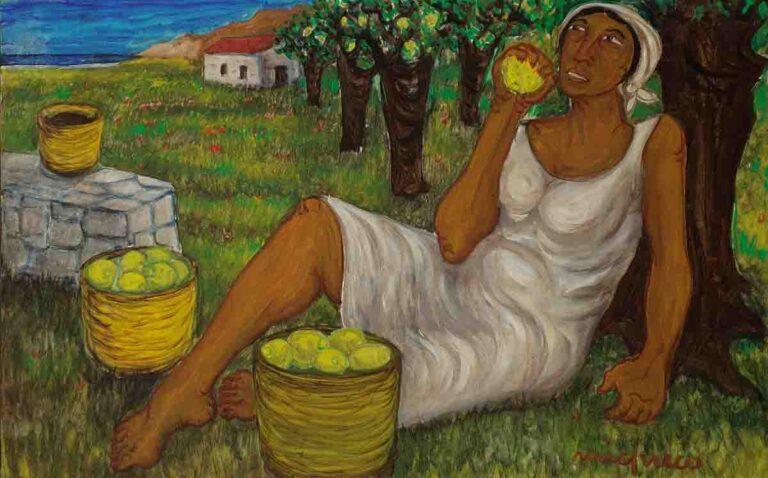 """Farmer with lemons """"195"""""""