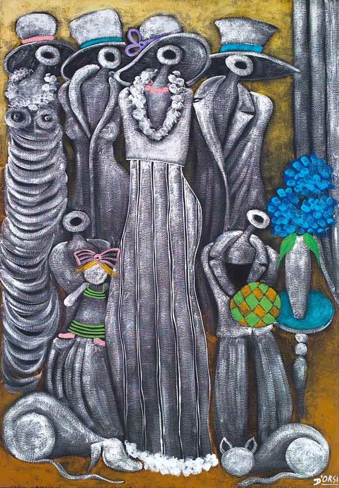 """From the metaphysical cycle - the spouses """"194"""""""